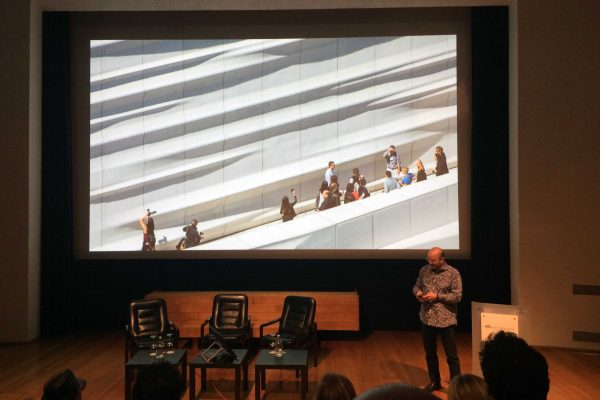 Craig Dykers, Snøhetta discussing the Museum of Modern Art in San Francisco